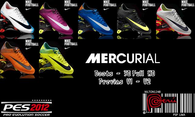 Сборник бутс Nike для PES 2012