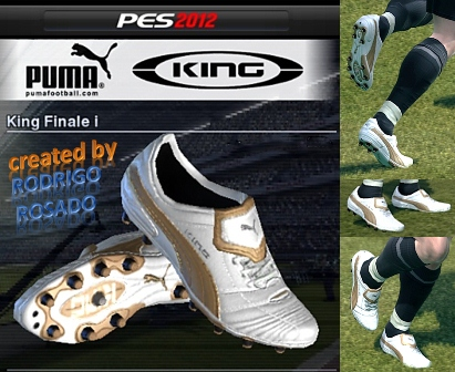 Бутсы Puma King Finale для PES 2012