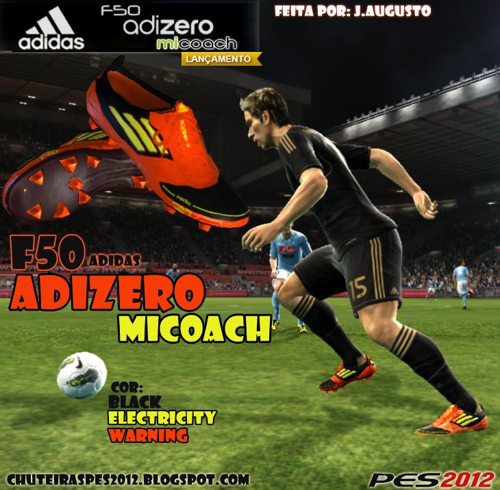 Бутсы F50 Adizero miCoach для PES 2012